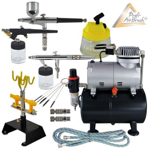 Airbrushpistole Profi-AirBrush Gravity Single-Action-Gun 2002 D 0,3