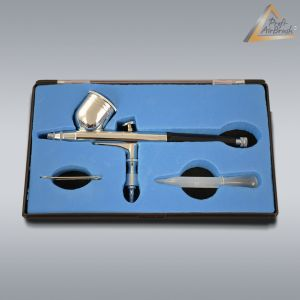 Airbrushpistole Profi-AirBrush Gravity Double-Action-Gun 130 D 0,3