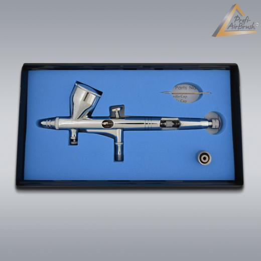 Airbrushpistole Profi-AirBrush Gravity Double-Action-Gun 180 D 0,2