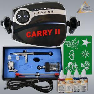 Profi-AirBrush Carry II Tattoo Set