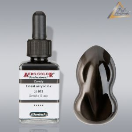 Airbrush-Farbe CANDY FARBEN Smoke Black, Schmincke 28 072