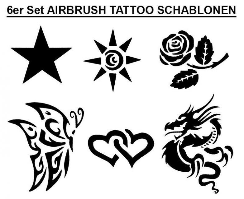 Airbrush, Farbe, Nail, Ink, Tattoo, Colours, Lack, Schablonen ...