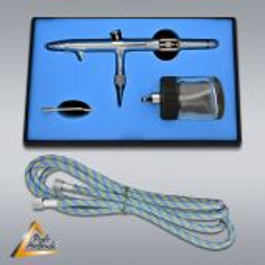 Airbrushpistole Profi-AirBrush Gravity Double-Action-Gun 182 D 0,5