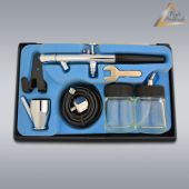Airbrushpistole Profi-AirBrush Gravity Double-Action-Gun 128 D 0,35