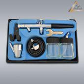 Airbrushpistole Profi-AirBrush Gravity Double-Action-Gun 128 D 0,35