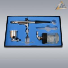 Airbrushpistole Profi-AirBrush Gravity Double-Action-Gun 134 D 0,3