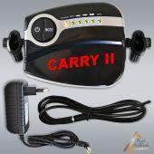 Profi AirBrush Kompressor Carry II Black mit Druckschlauch / Netzteil