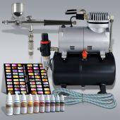 Profi-AirBrush Kompressor Universal I Nail Set