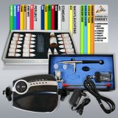 Profi-AirBrush Color IV mit Airbrush Farben 19-er Set in Geschenkverpackung