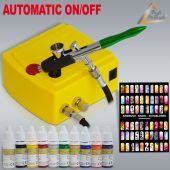 Profi-AirBrush Carry I Nail Set