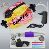 Profi-AirBrush Set Carry II R mit TORTEN-DECO-Airbrush Set