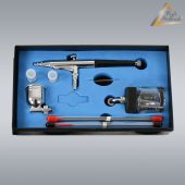 Airbrushpistole Profi-AirBrush Gravity Double-Action-Gun 134s